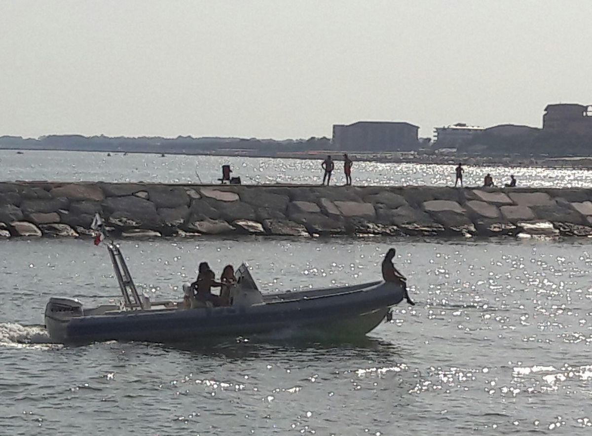 On A Hot Afternoon Mediterranean Sea Against The Light Sunlight Sea Ships On The Water Water Beach Nautical Vessel Outdoors Day Horizon Over Water Nature Sky People In The Background The Week On EyeEm