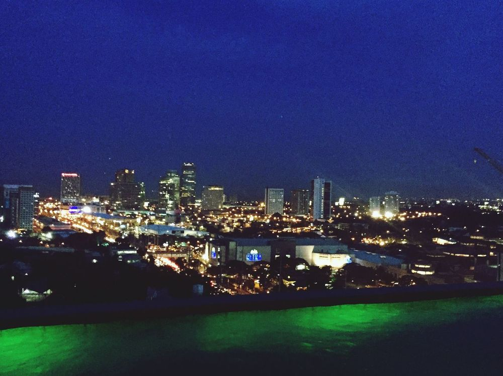 The Changing City Place I've Been Relaxing Enjoying The View Laspinas Eyeem Philippines Enjoying Night
