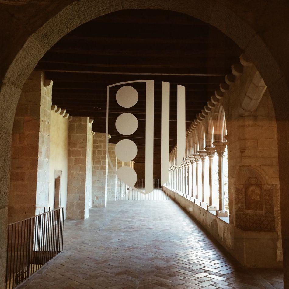 Vanishing Point Monestir De Pedralbes Barcelona