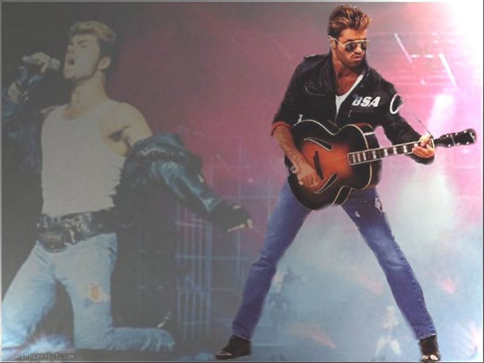 I'm blessed i know Heaven sent and heaven stole You smiled at me like Jesus to a child George Michael Music Rip