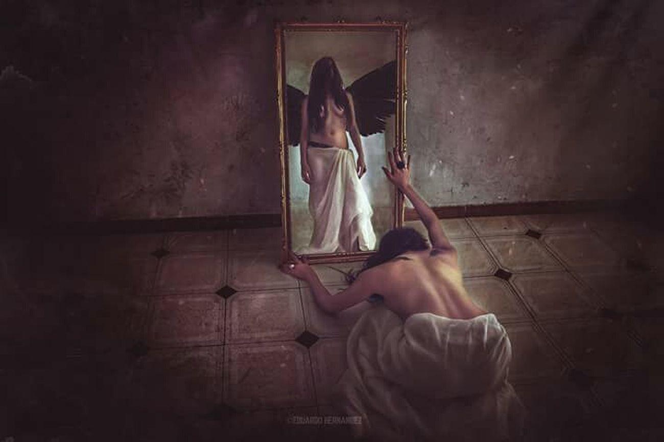 Bring your soul to my land... Portrait, Conceptual fine art