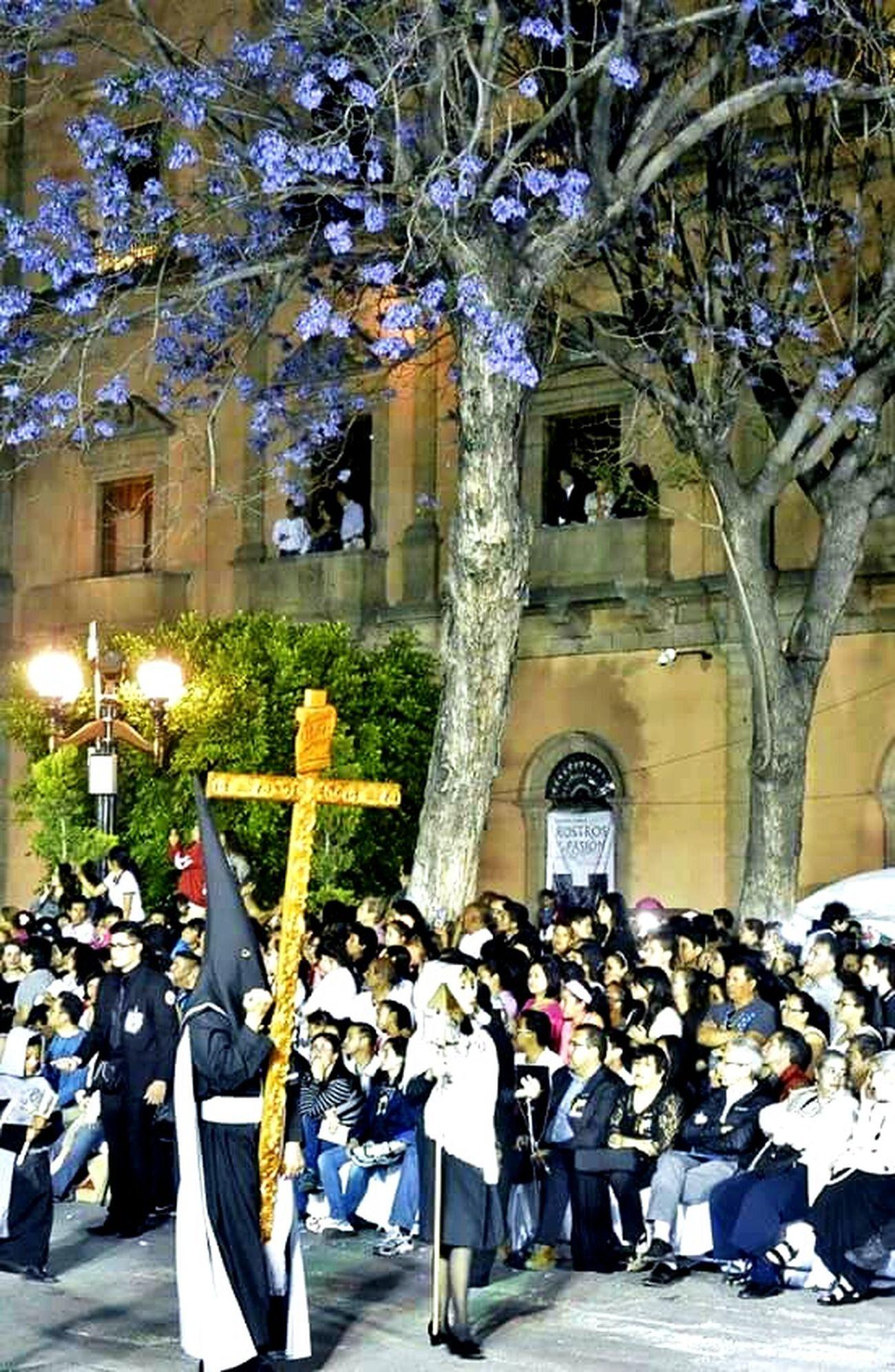 Urban Spring Fever Taking Photos Hello World Enjoying Life My Work Place Photography Colorful San Luis Potosí Procesion Del Silencio Procession Processione Semana Santa