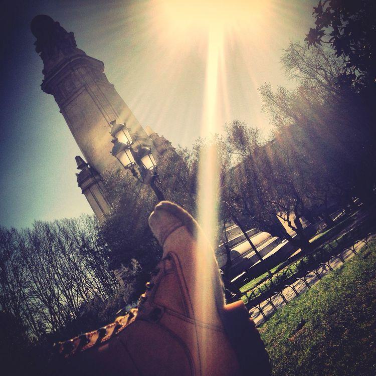 Enjoying the sun ☀️??