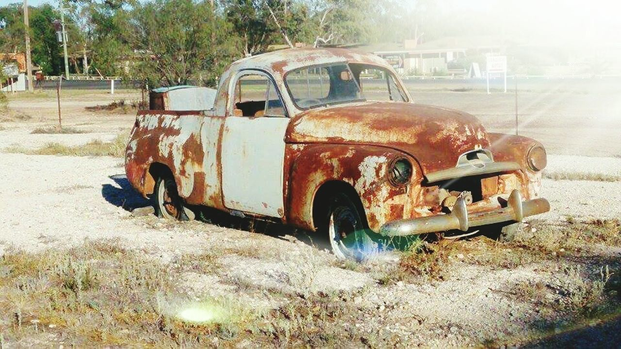 abandoned, damaged, rusty, obsolete, car, bad condition, transportation, destruction, no people, day, desolate, outdoors