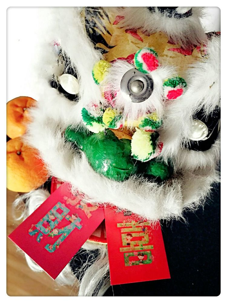 Red Multi Colored Close-up No People Good Luck With It Red Packets Indoor Happy New Year Things Colorful Lion Dance Tradition Simple Orange ✨ 恭賀新禧 ✨