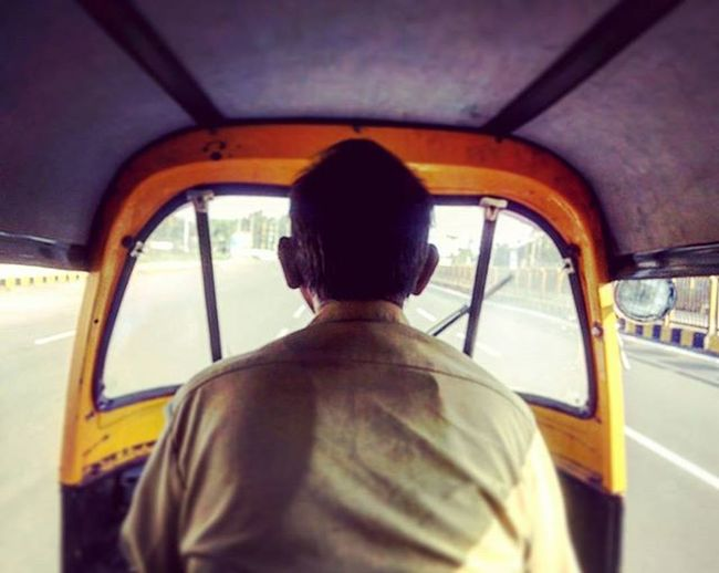 Autorickshaw Driver Pune India People Transport Instaclick GoogleNexus5