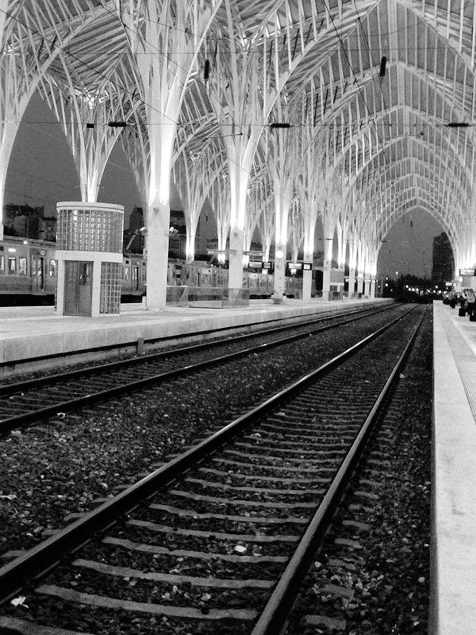 Gare Do Oriente Garedooriente Gare Trainstation Traintracks Train Tracks Train Station Train Rail Railwaystation