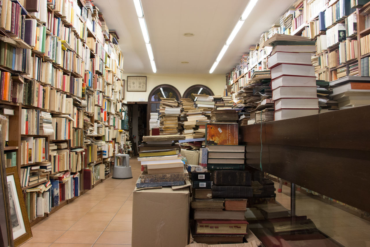 A Lot Of Books  Book Bookshelf Large Group Of Objects No People Beautifully Organized