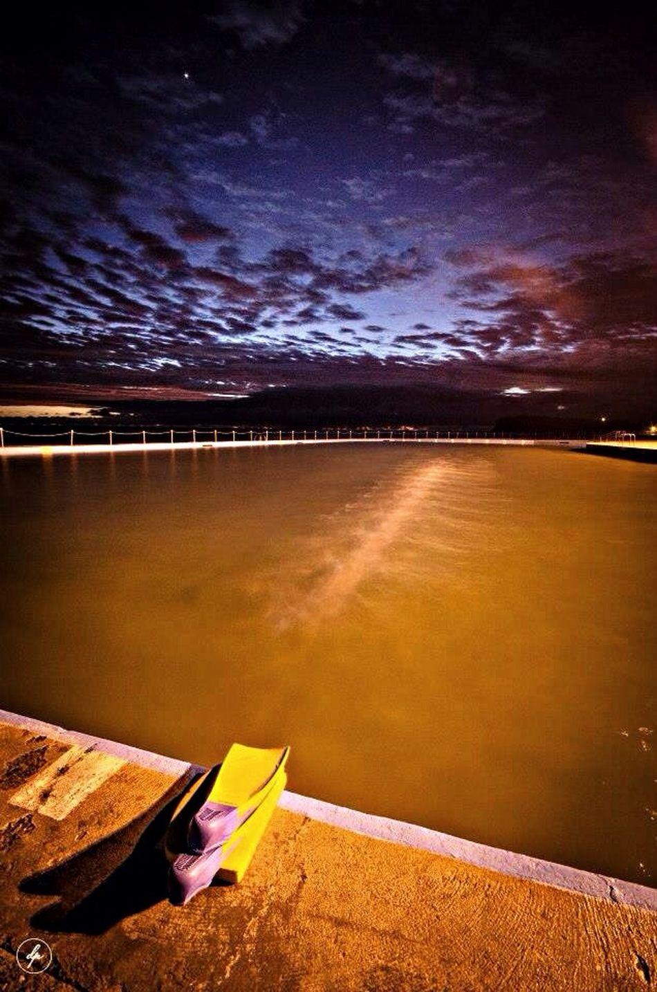 I Think that he forgot something ;-) Pool Dproesmans.com Beach Australia