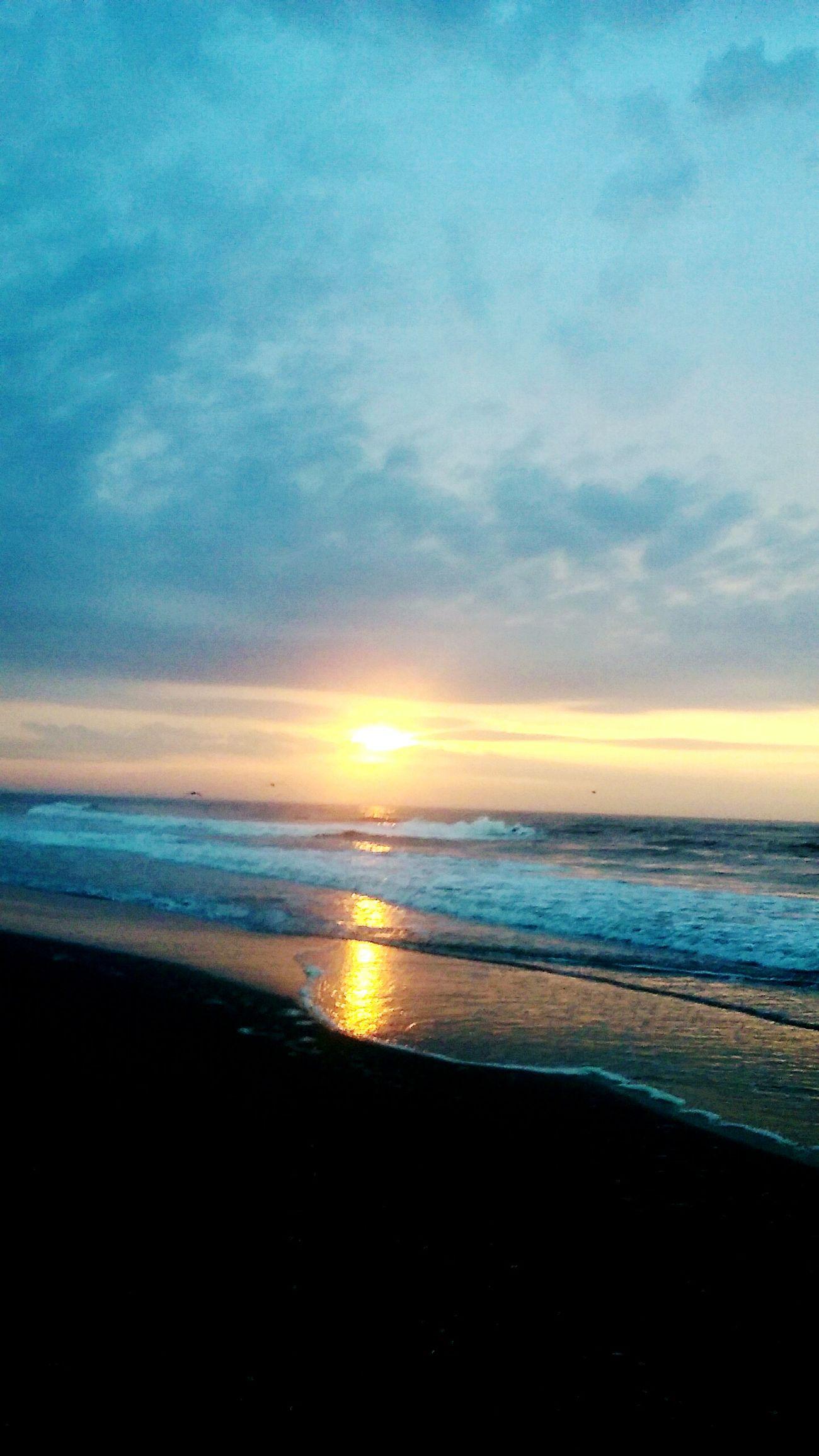 Ocean Sunrise Beach At Sunrise