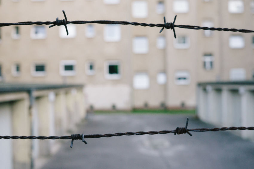 Security Barbed Wire Barbwire Day Grunge Metal No People Old Outdoors Protection Rusty Safety Sky Urban Worry