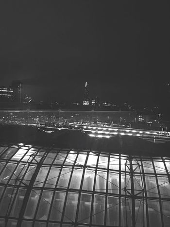 City Night Building Exterior Water Built Structure Outdoors Clear Sky Architecture Illuminated No People Nature Sky Waterloo Station IPhoneography EyeEm Best Shots EyeEm Gallery EyeEmBestPics City Shard Blackandwhite Welcome To Black