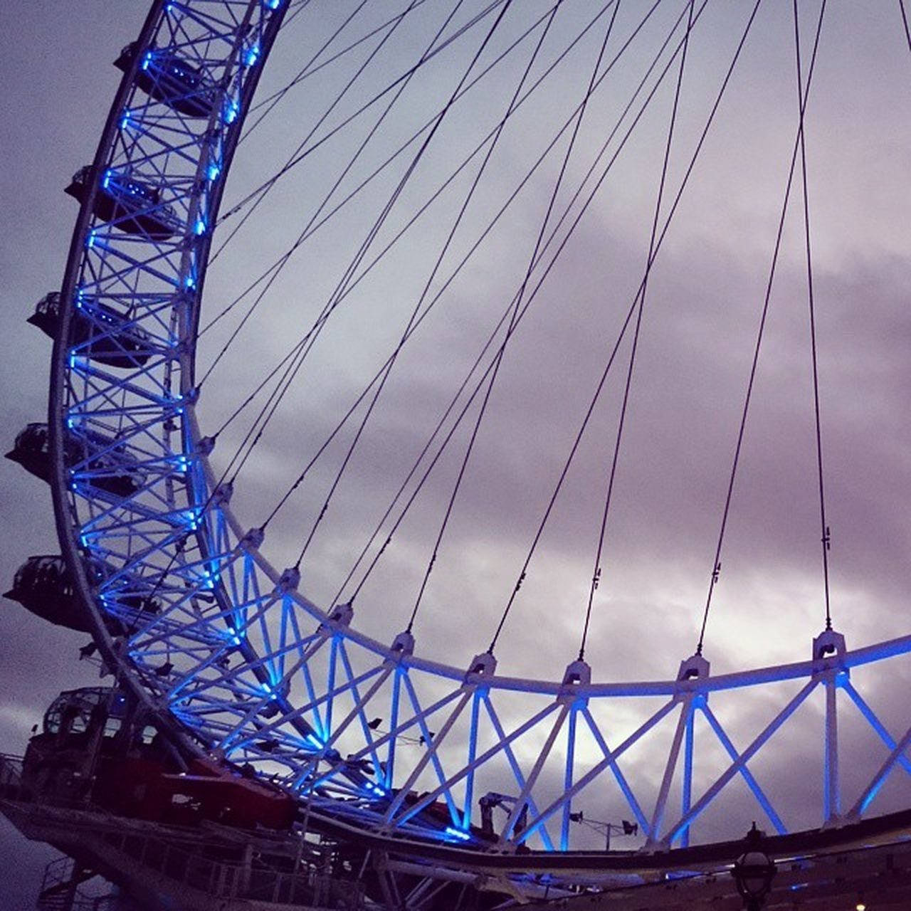 Part of the LondonEye London TheSouthBank Attraction ride XperiaZ3