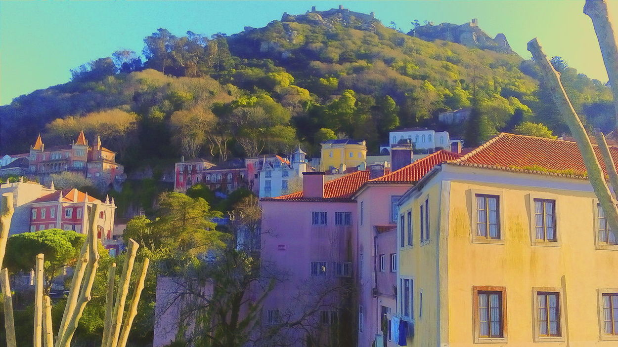 Sintra, Portugal Taking Photos Relaxing Hanging Out Enjoying Life Check This Out Eyem Gallery Sintraalive Showcase March The Week On Eyem Venividivici Sunny Day Castle Castelodosmouros Hello World March 2016
