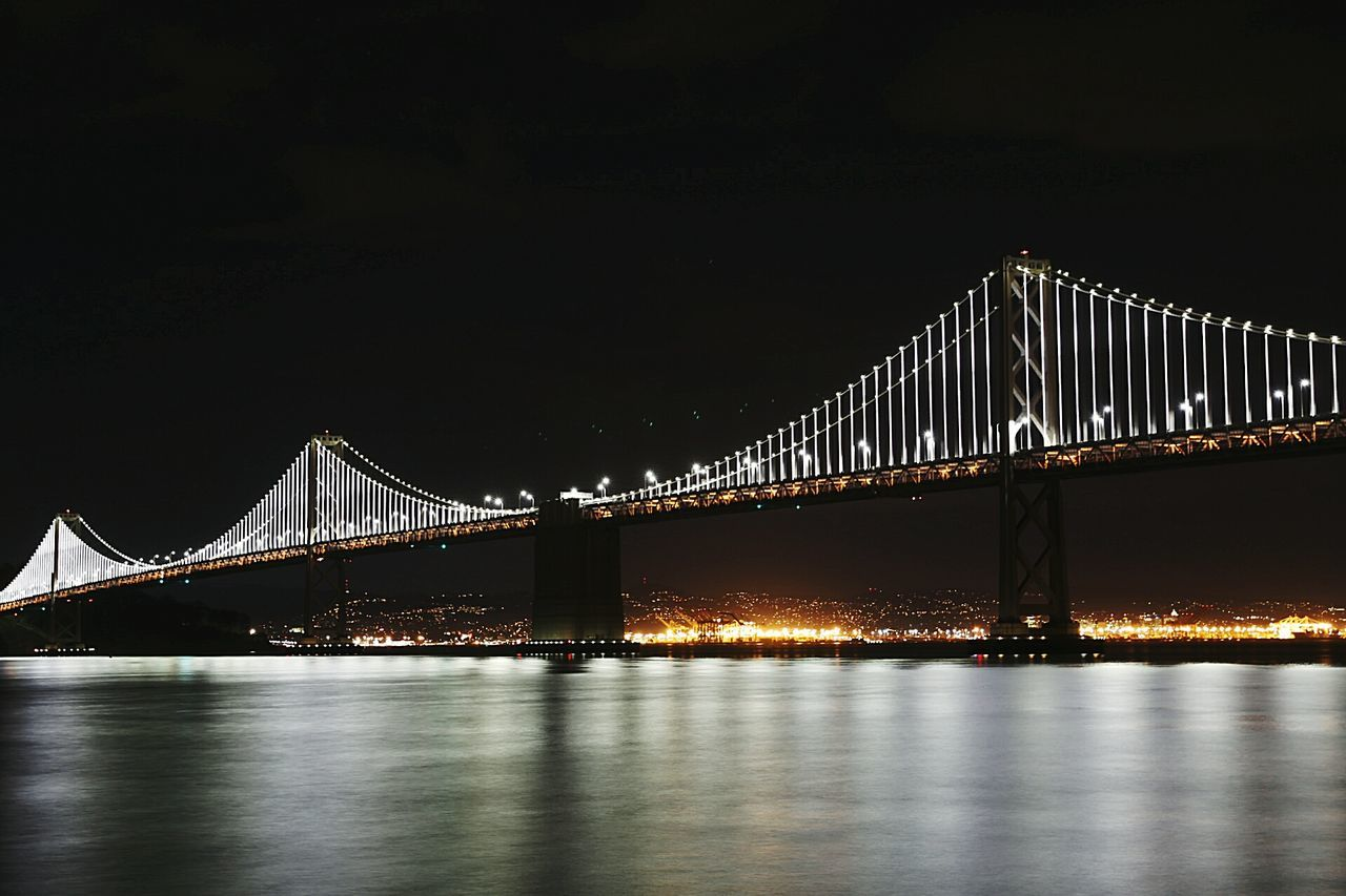 Baylights Sanfrancisco Nightphotography Night Canon6d Baybridge Longexposure