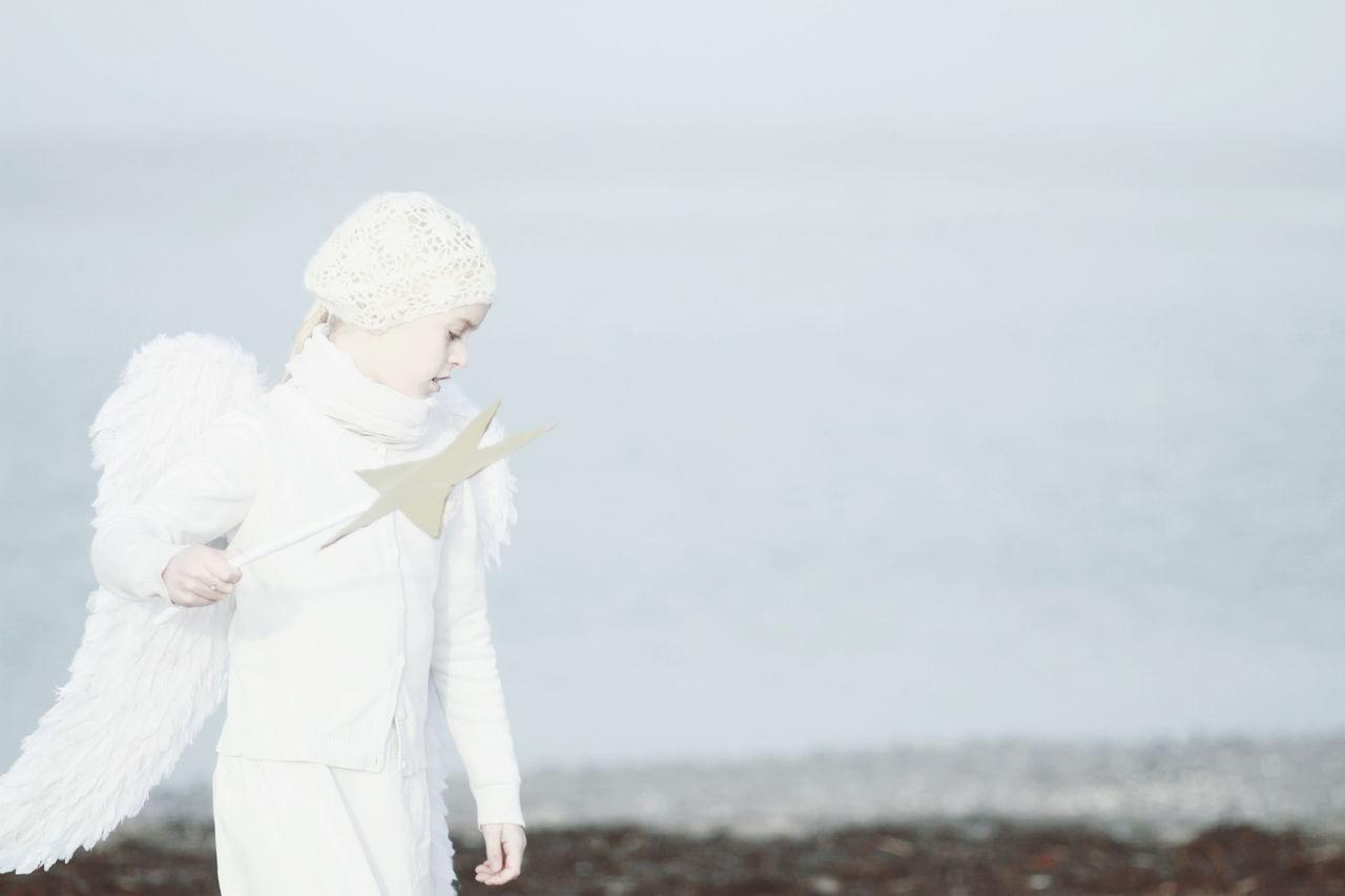 Beautiful stock photos of angel,  8-9 Years,  Angel,  Beach,  Beauty In Nature