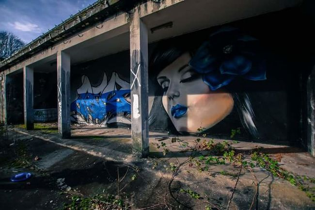 Abandoned Places Urbanexploration Destroyed Lostplaces NIKON D5300 Old Building  Marodes Beauty Of Decay Light And Shadow Graffiti Art Lostintime