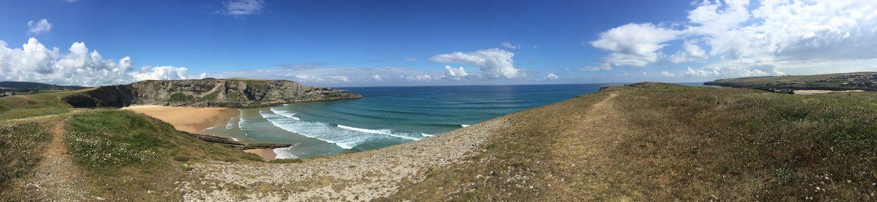 Ago BasqueCountry Beach Camping Fields Hiking Mountain Ocean Outdoors Panoramashot Sea Spaın Summer Sun Surf Surftrip