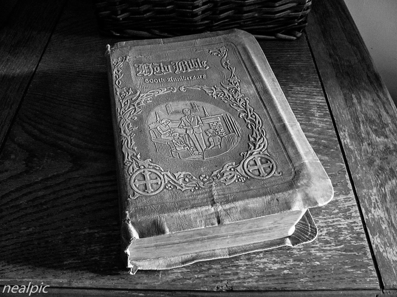 Antique Bible Close-up Day Indoors  Natural Light Portrait No People Still Life Photography