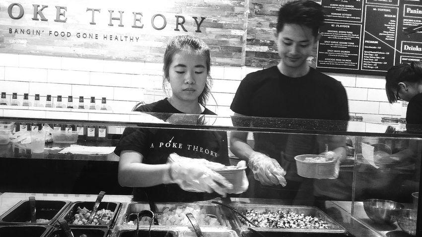 Making Choices Hawaiian Poke Poke Theory Streetphotography Bnw Bnw_life Bnw_captures Singapore