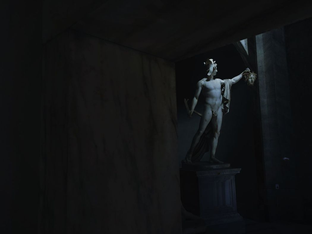 Statue Human Representation Sculpture Male Likeness Art And Craft Indoors  No People Day Medusa Perseus Statue Rome The Photojournalist - 2017 EyeEm Awards Vatican Museum Musei Vaticani Roma