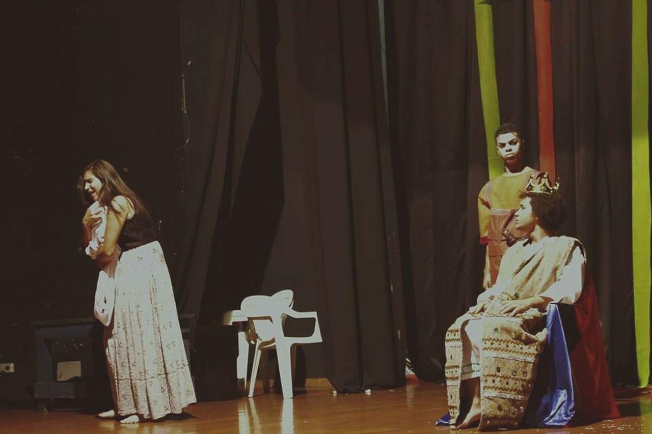 Rei Salomão, Fantasia 14/06. Fantasia Teatro Rei Salomao Priscila Vila