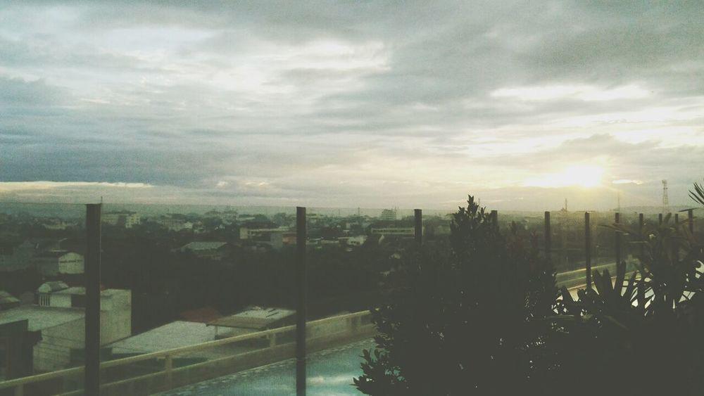 good morning 궅몰닝 ^^ Sunrise Morning Annyeong Panorama