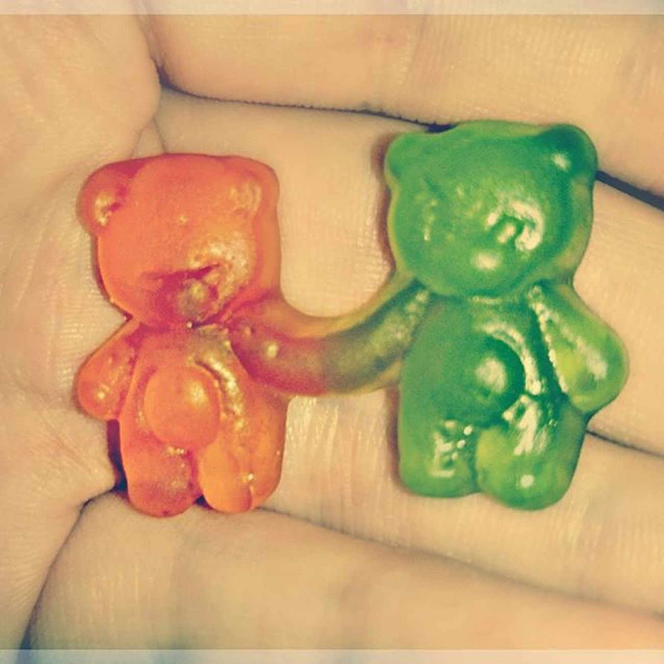 👫❤ Love Sweet Sweetlove Instalove Picoftheday Picture Photography Perfect Together Bear Littlelove Candy Gummybears Sugar Truelove