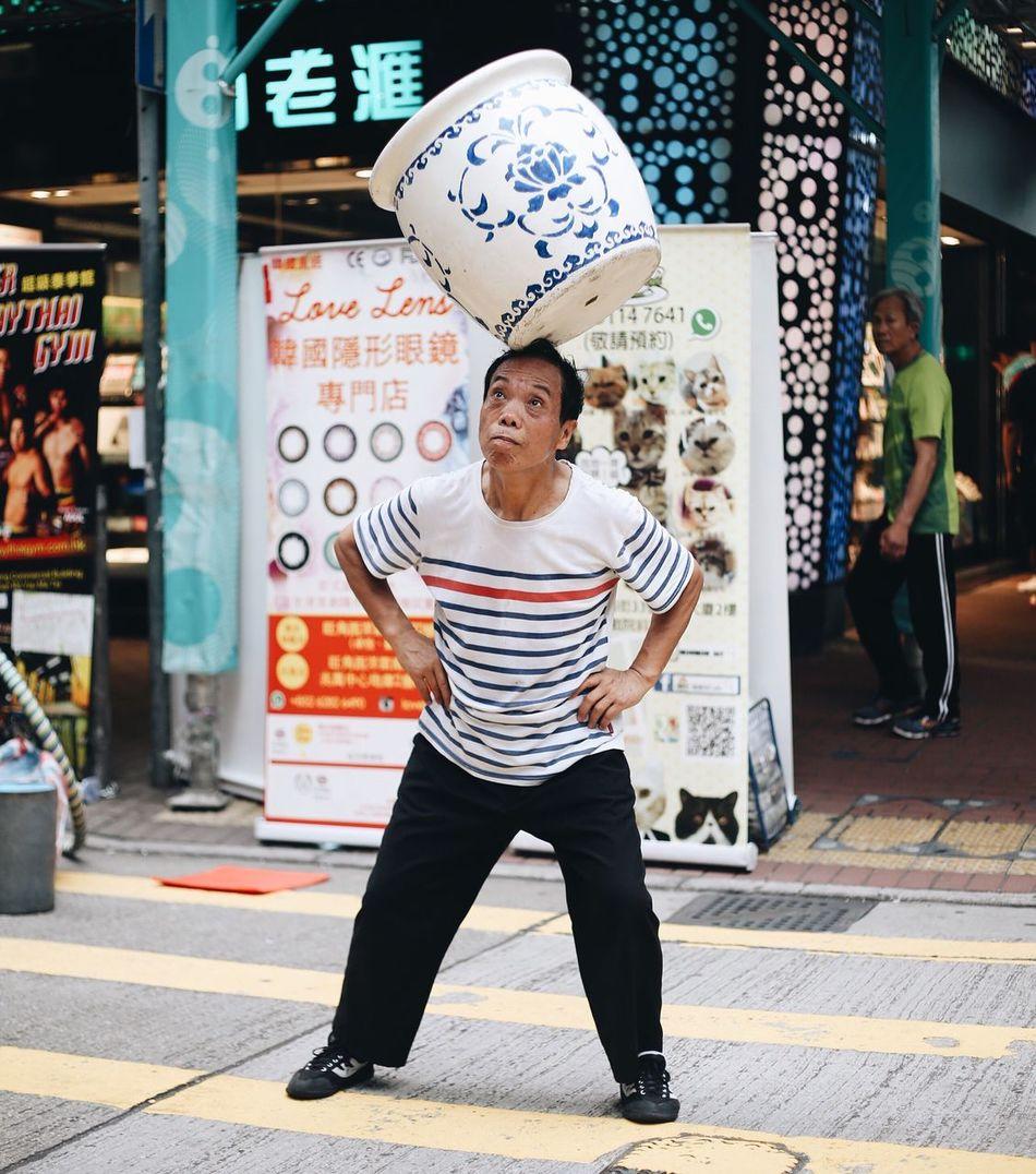 Feel The Journey HongKong Explorehongkong Streetphotography Streetperformer Chinese Art EyeEm X Canon - Feel The Journey