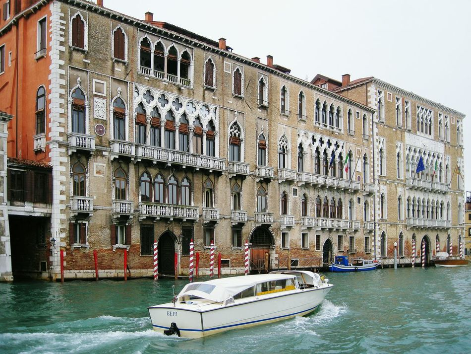 Travel Destinations Architecture Outdoors Water Nautical Vessel Eurotravel Venice Visiteurope EuroTour Tourism Tourism Destination Visititaly Classical Architecture Romantic Place Sightseeing Artdeco Watertown