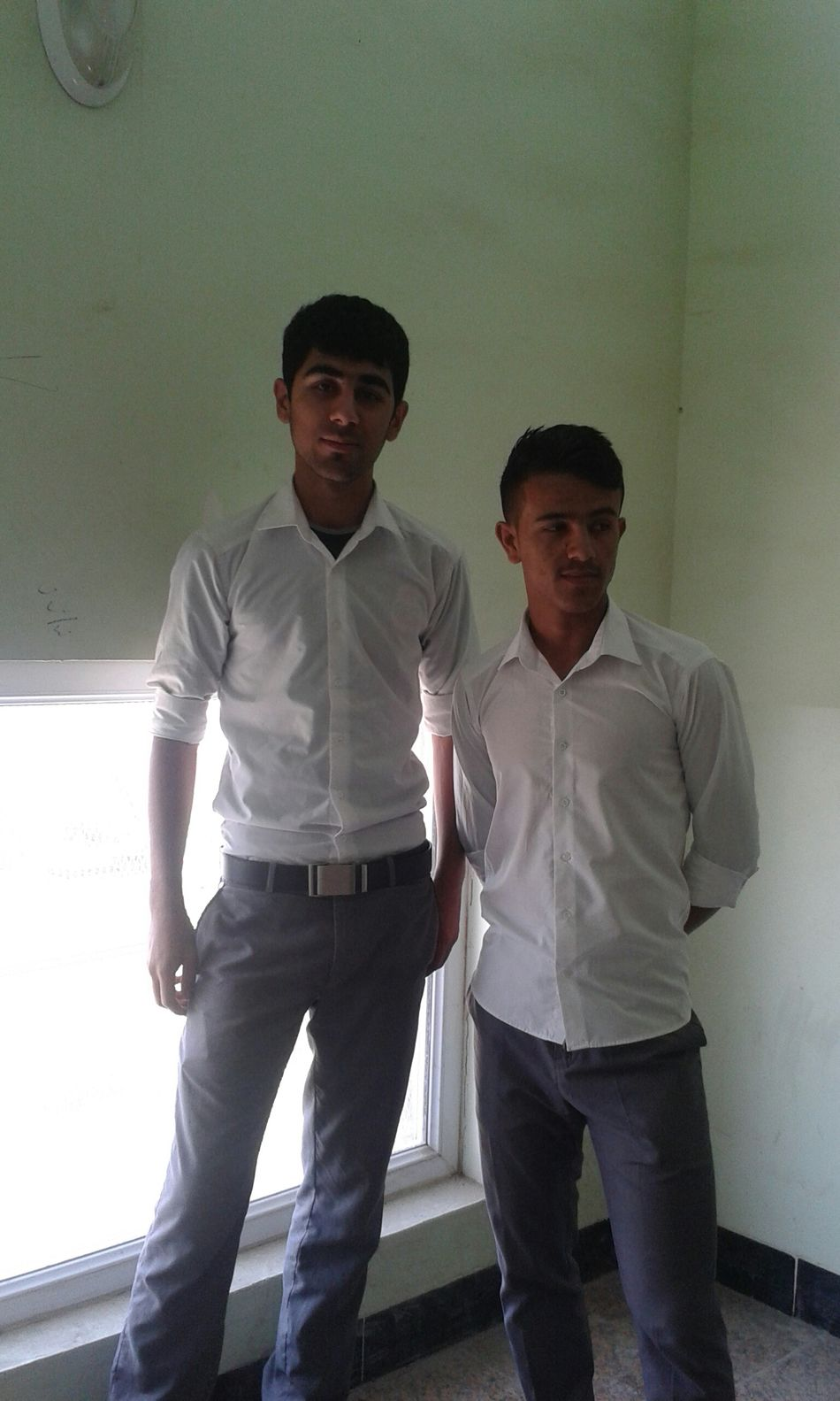 me and friend
