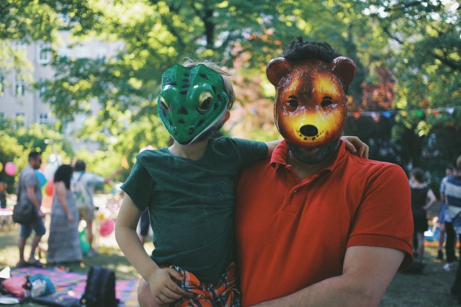 Beautiful stock photos of father, Animal Representation, Bear, Berlin, Bonding