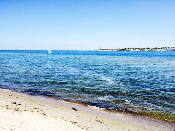 Falkensteiner Strand Sunshine IPhoneography Schleswig-Holstein Blue Sky Travel Photography Landscape_Collection Sea And Sky Kiel Beautiful Day Beachphotography