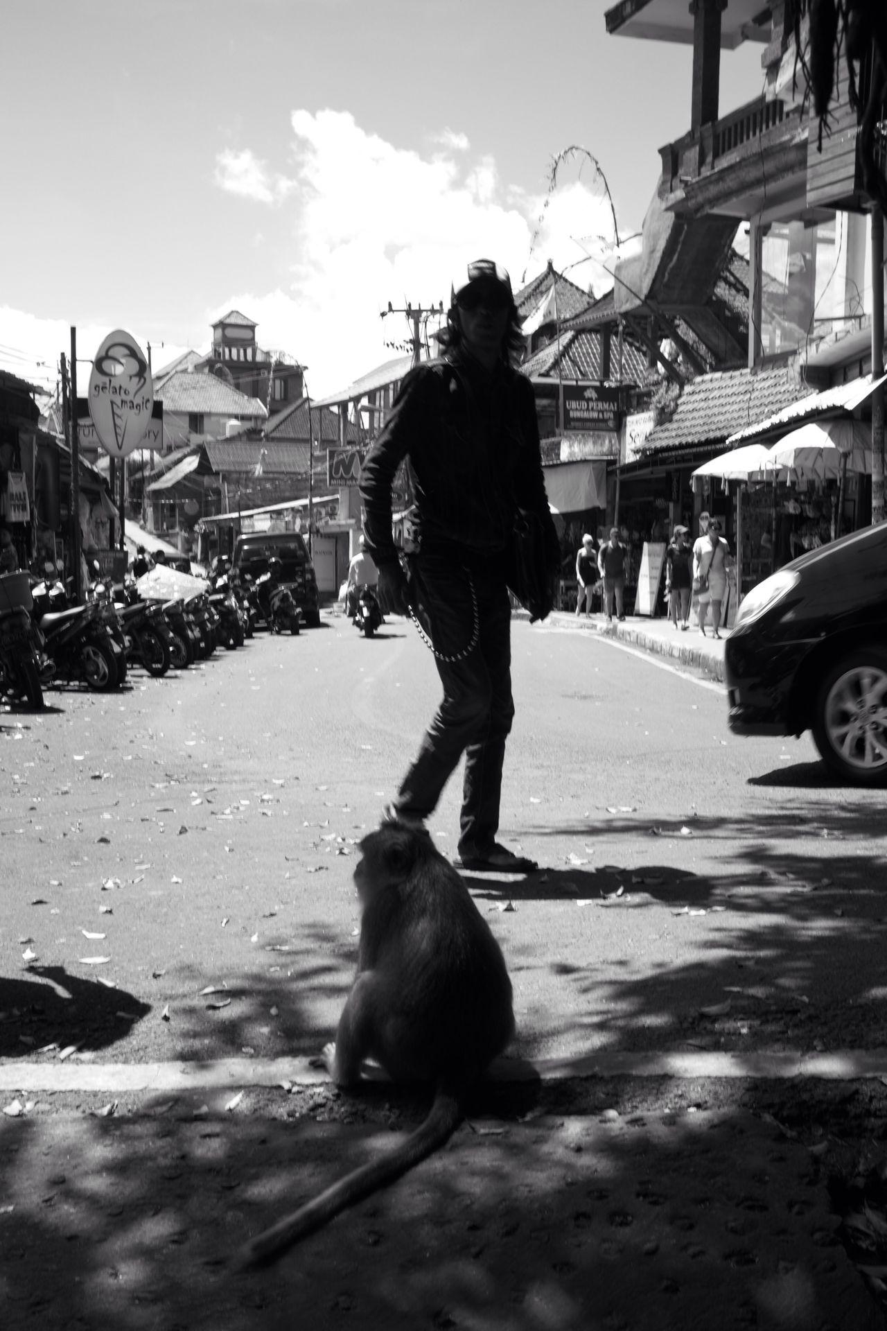 The Street Photographer - 2017 EyeEm Awards Streetphotography Street Photography B&w Street Photography Ubud Ubud, Bali Bali Bali, Indonesia INDONESIA Monkey Forest Candid Photography Fujifilm_xseries BYOPaper!