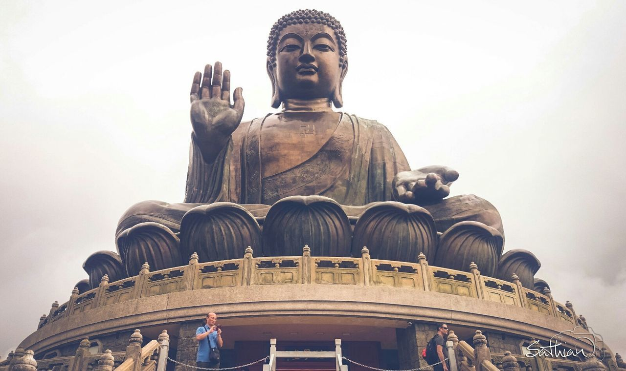 The Big Buddha Statue ... HongKong Travel Photography Buddha Pong 360 EyeEmbestshots Freedom Pictureoftheday Amazing