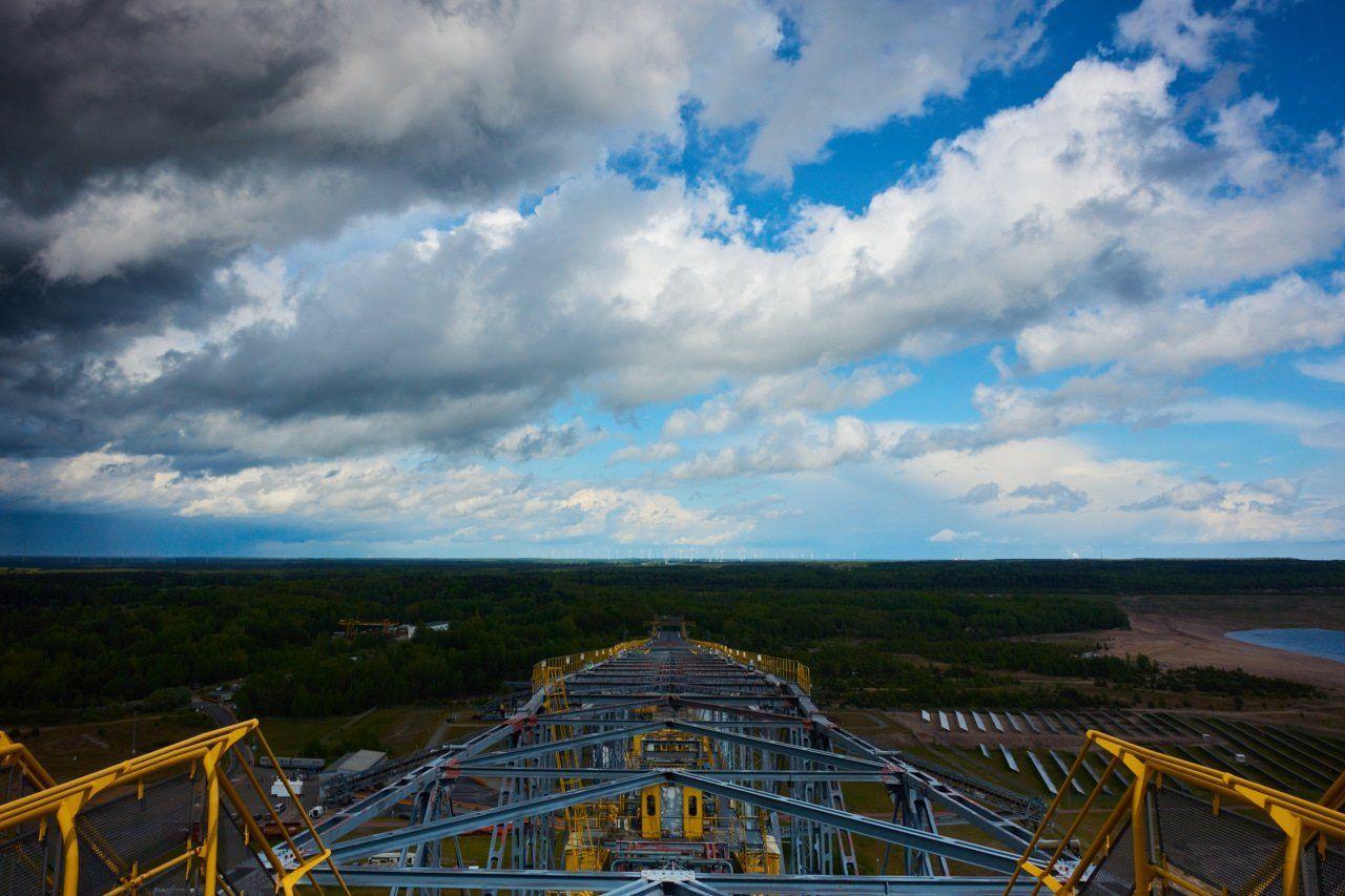 F60 Tagebaubrücke Tagebau Tagebaulausitz