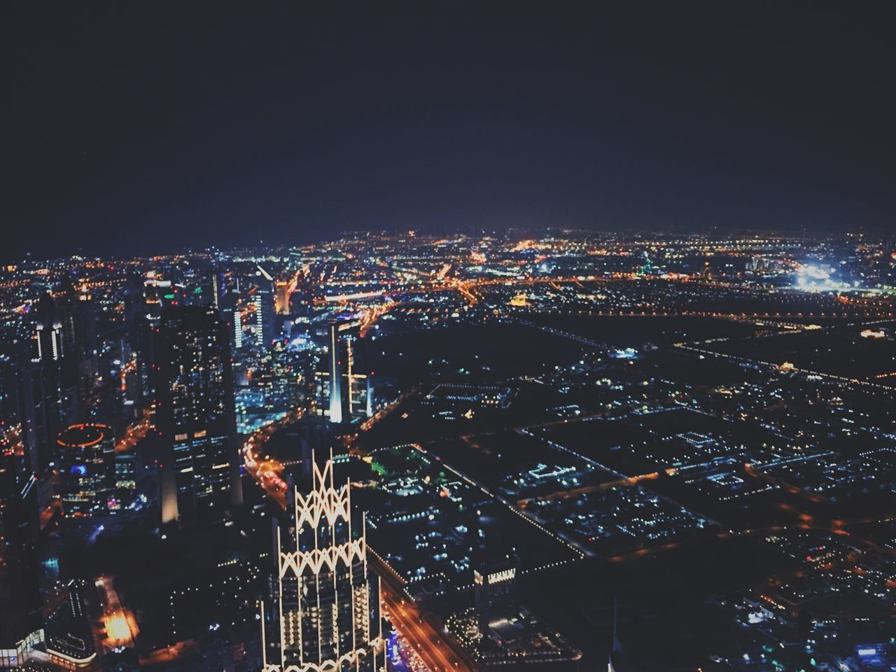 night, cityscape, illuminated, city, architecture, building exterior, no people, built structure, outdoors, skyscraper, modern, sky