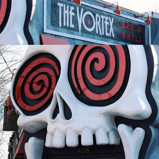 Cool place in Little 5 Points Athens Photography Thevortex Eat Skull Wicked