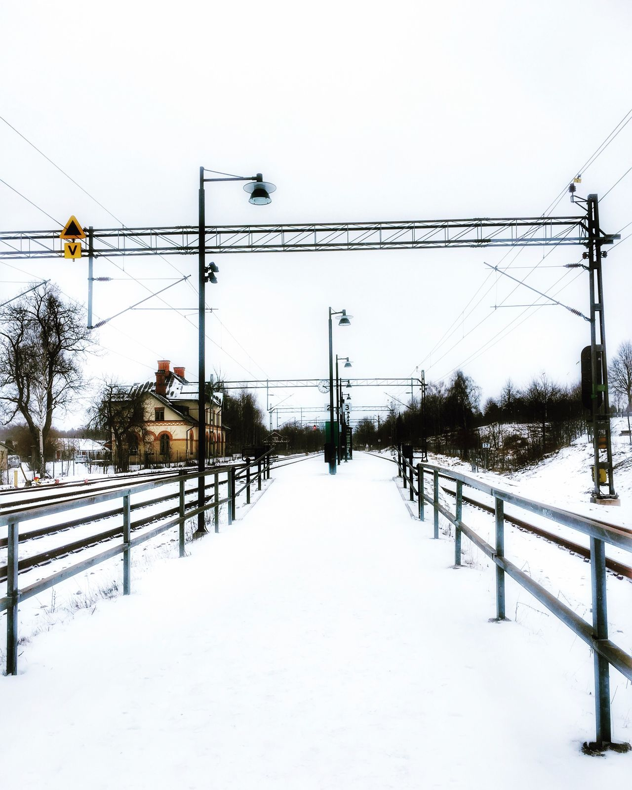 Cold Temperature Good Afternoon Snow Winter Transportation From My Point Of View