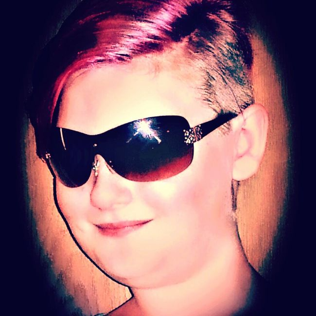 Change Your Perspective Individuality Expression Beyourself LoveYourSelf ♥ Taking Photos Check This Out Playing With Effects Youth Of Today Kids Having Fun Faces Of Summer Pink Hair Pink! Growing Up