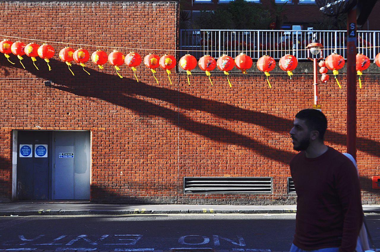 London. Chinatown London Lifestyle London Chinatown Architecture Streetphotography Street Photography Outdoors People Brick Wall City