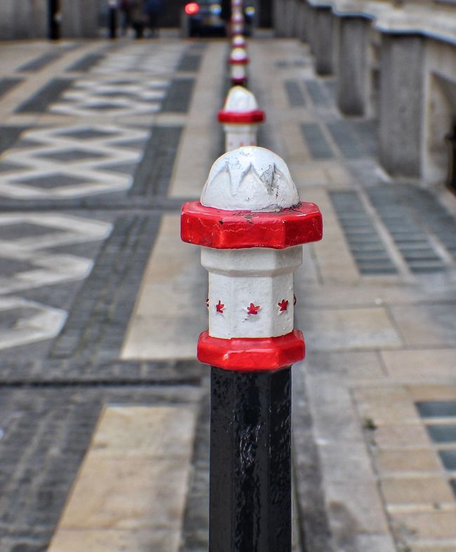 Bollards Taking Photos Tiled Floor Surface Level Popular Photos Photography Pattern Pathway Outdoors London I LOVE PHOTOGRAPHY Hanging Out Footpath EyeEm Best Shots Eye4photography  Design Close-up Walking Around Popular Populer Photos