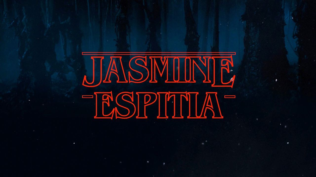 My name, Stranger Things themed.❤️ Edited by my talented bb.❤️🌌📺 StrangerThings Graphic Design 1984