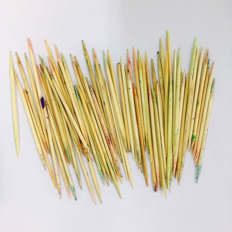 Colorful Wooden Toothpicks