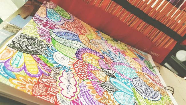 Art, Drawing, Creativity Hi! Enjoying Life Relaxing Colombia ♥  Designer  Design #art #illustration Zentangleart Mandalas Hello World Goodday