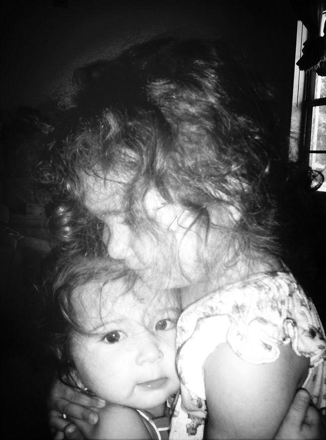 My 2 oldest daughters. Taken around 2008 or 2009. Sister ❤ Sisterly Bonding Siblings Family