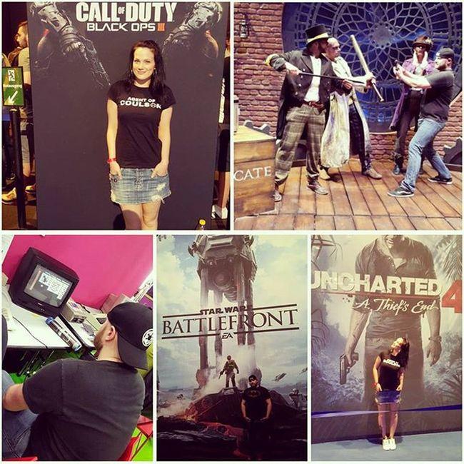 Gamescom Starwarsbattlefront Uncharted Assassinscreed NerdCouple Blackops3