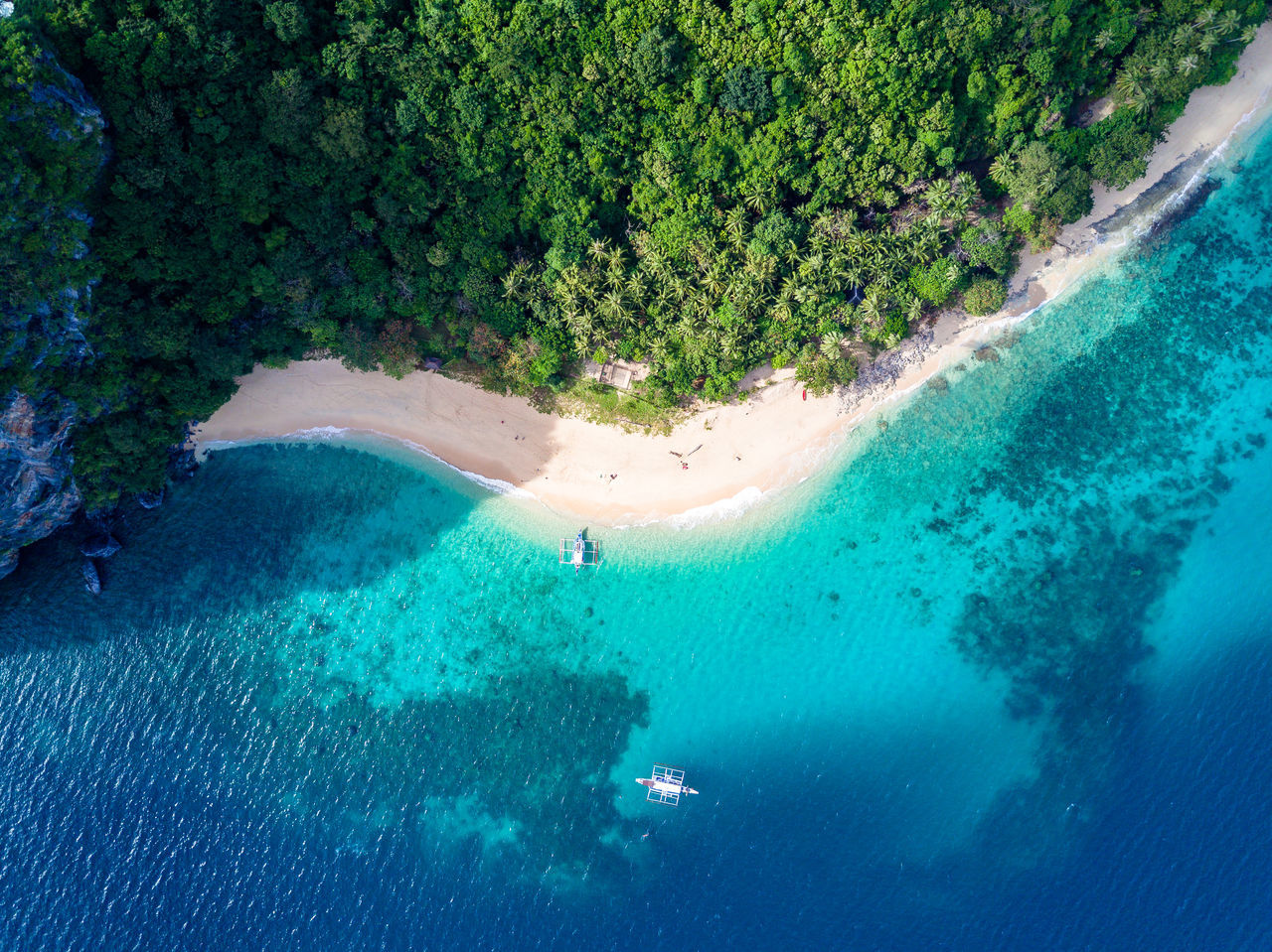 Beauty In Nature Day Drone  Dronephotography Eyeem Philippines Limestone Nature No People Outdoors Palawan Philippines Scenics Sky Swimming Travel Destinations Tree UnderSea Underwater Water