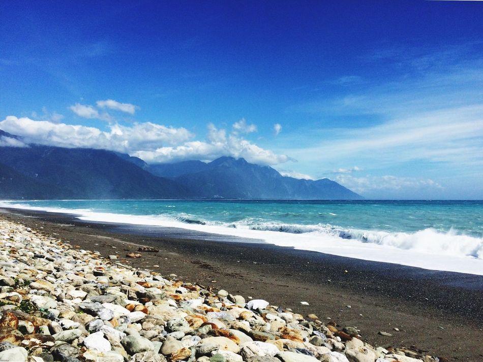 Beautiful stock photos of surf, Beach, Blue, Cloud, Day