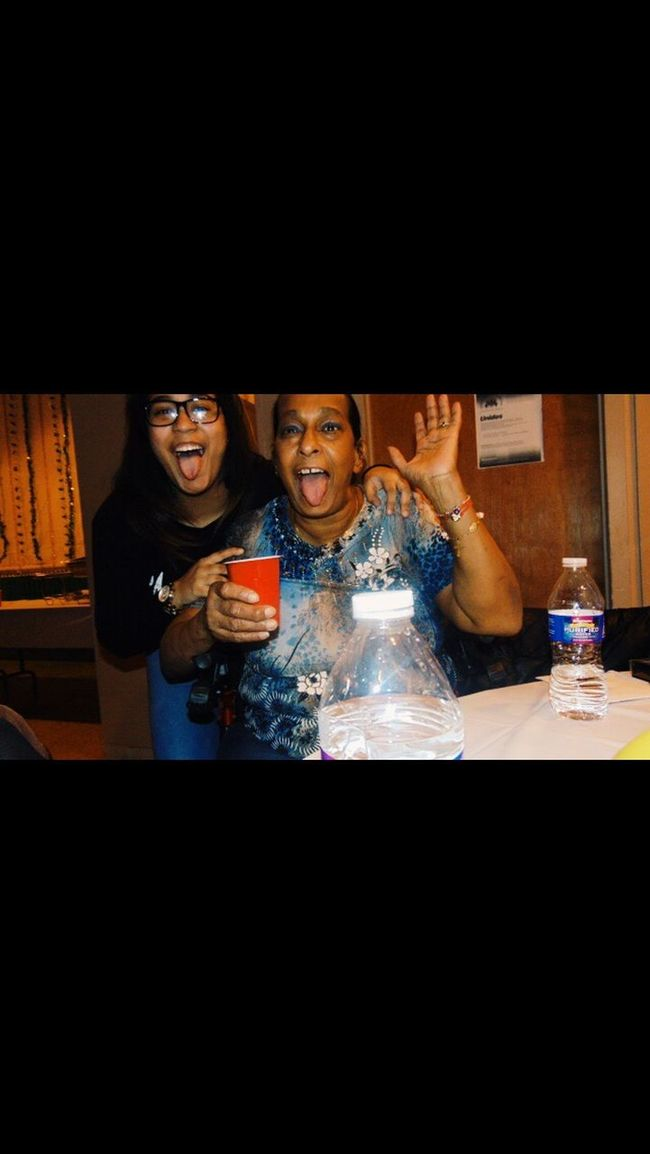 Me and grandma love parties ! Tripod At Its Finest Grandma Love Cute